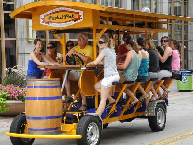 Pedal Bike Tours Detroit